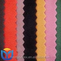 100% polyester brushed tricot super poly/felpa/sport tok/gold velvet fabric for pakistan garments