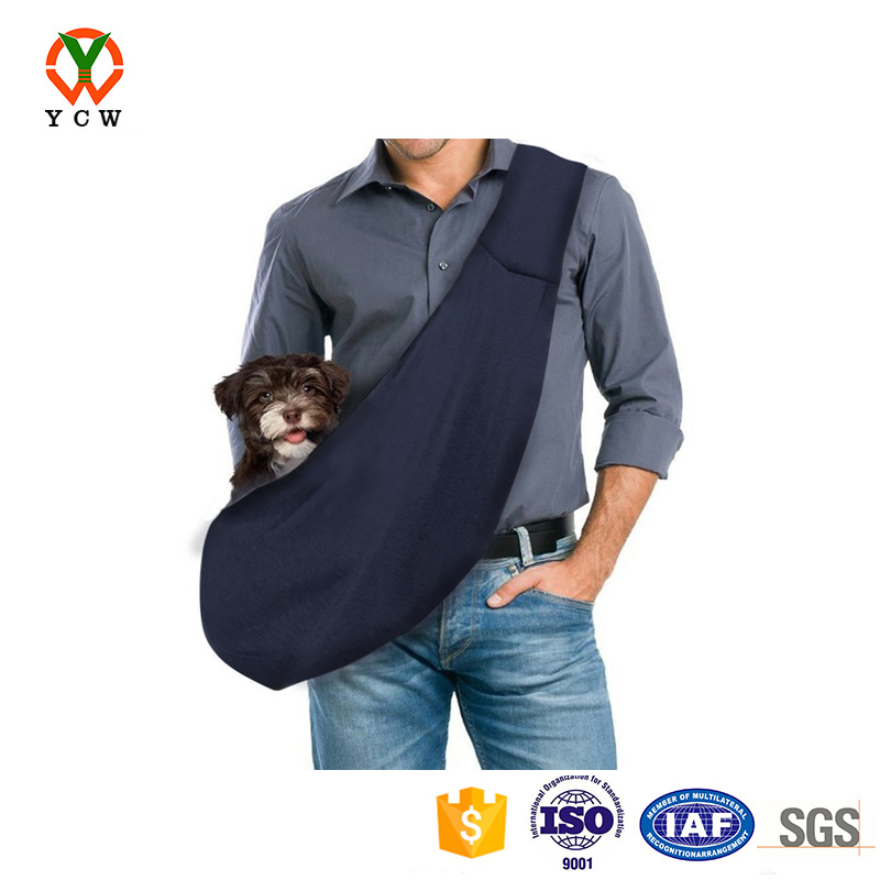OEM factory wholesale hand free cheap pet small dog sling carrier bag
