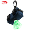 Cheap Dog Waste Bags Dispenser including 1 Roll of Poop Bags Holder Leash Attachment