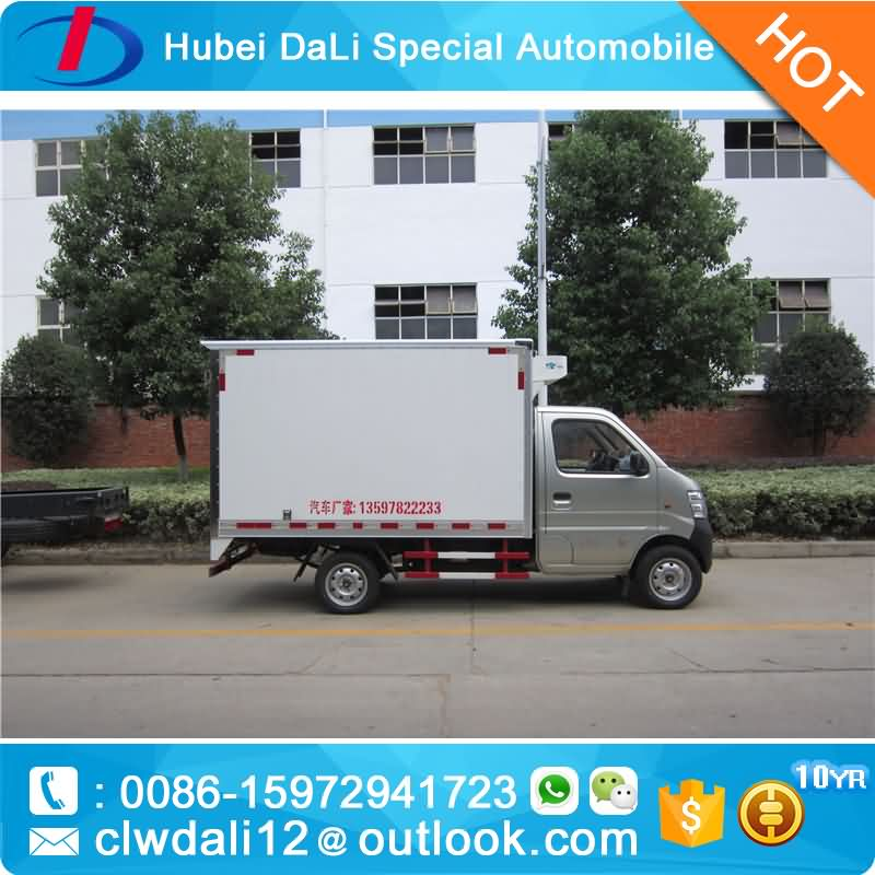 Petrol CHANA Delivery Van Truck Gasoline Mini Cargo Van, CLW Van Truck for sale