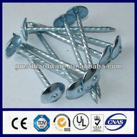 Twisted shank corrugated roofing nails