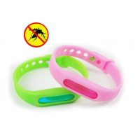 Portable baby 100% safe material natural essence citronella oil anti mosquito repellent bracelet