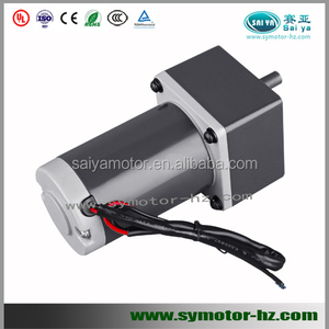 40W permanent magnet dc motor with gearbox