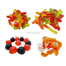 Custom made gummy animal shape Assorted fruit flavored sugar free candy and sweets