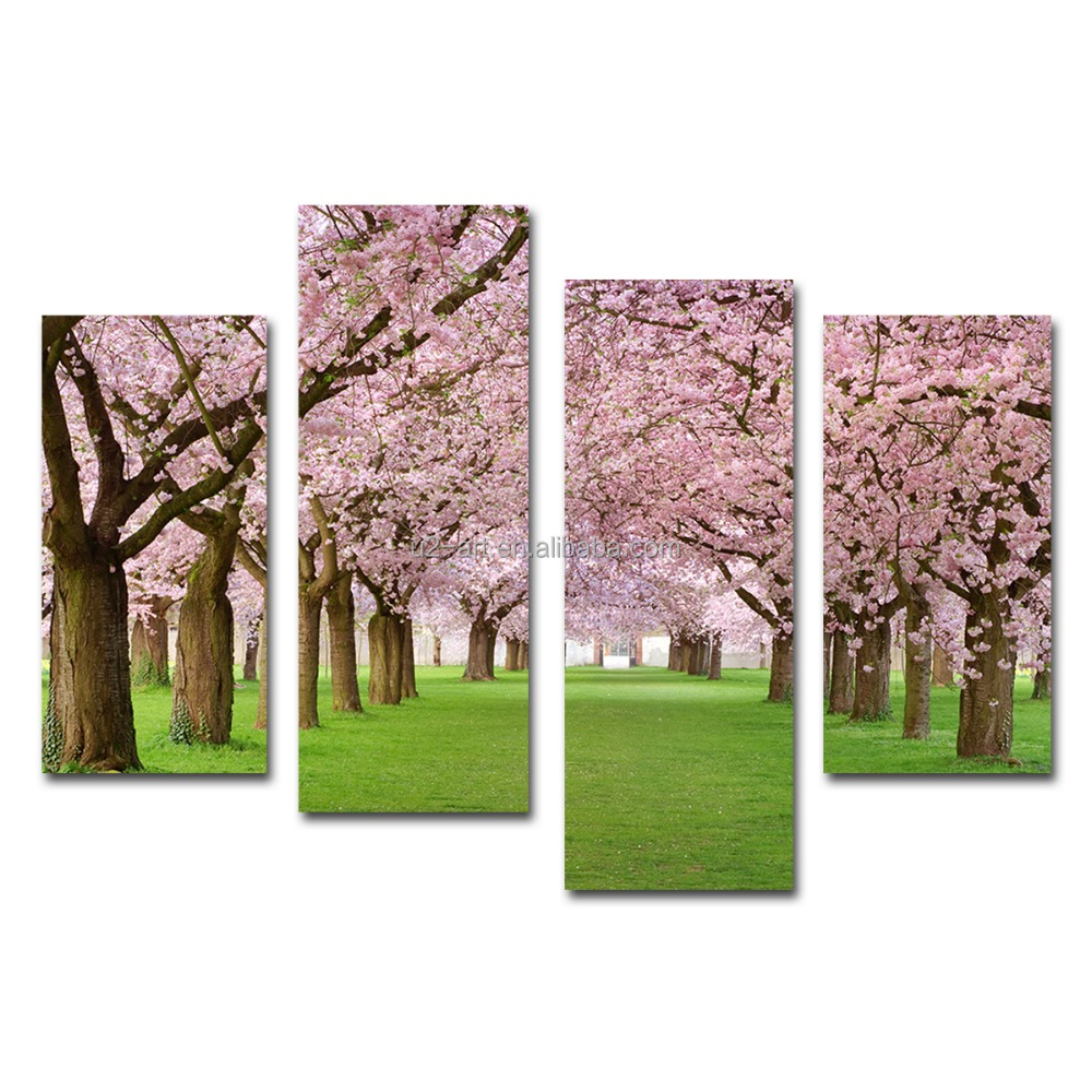 Sakura cherry blossom canvas prints pink flowers wall <strong>art</strong>