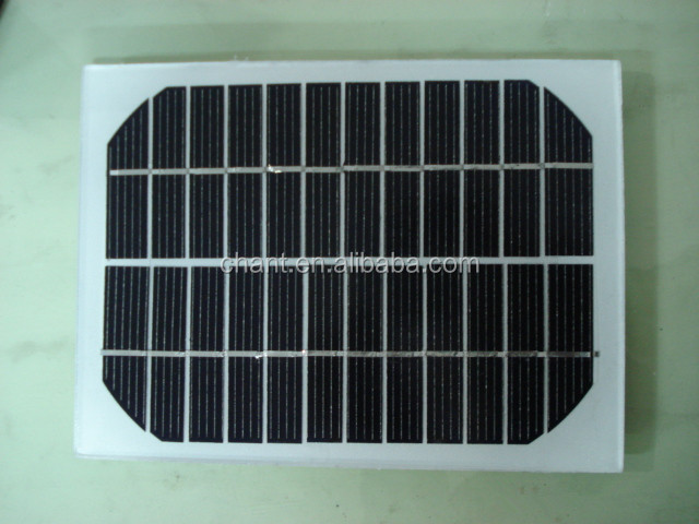 Factory supply solar energy products 3w single crystal silicon 18 pcs batteries solar panel