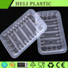 White Black Airline Fast Food Disposable Frozen Meal Tray