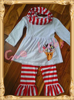 Reindeer christmas boutique outfits baby clothes manufacturers usa name brand clothing distributors 3pcs long sleeve outfits