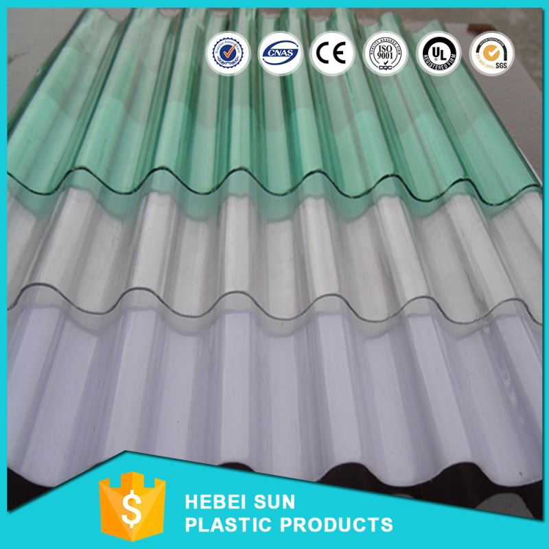 hard plastic transparent for printed circuit board insulation polycarbonate corrugated sheet