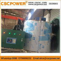 6T/day cscpowerCarbon Steel Materia Industrial Flake Ice Machine