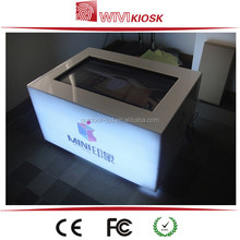 32 inch Free Standing multi touch screen kiosk Touch Table with high quality