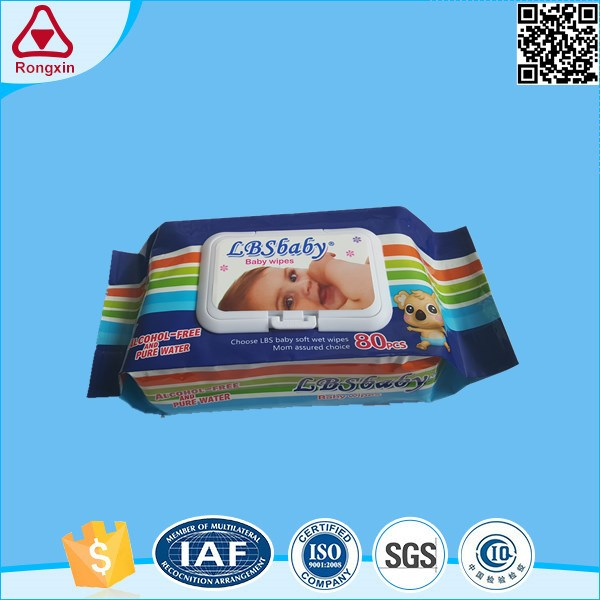 Free Sample Hot Sale High Quality Competitive Plastic Wet Container Lid Baby Wipe Case
