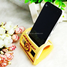 fashtion custom logo plastic cell phone stand