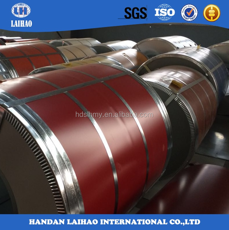SGCC DX51D prepainted galvanized steel coil color coated steel roll plate