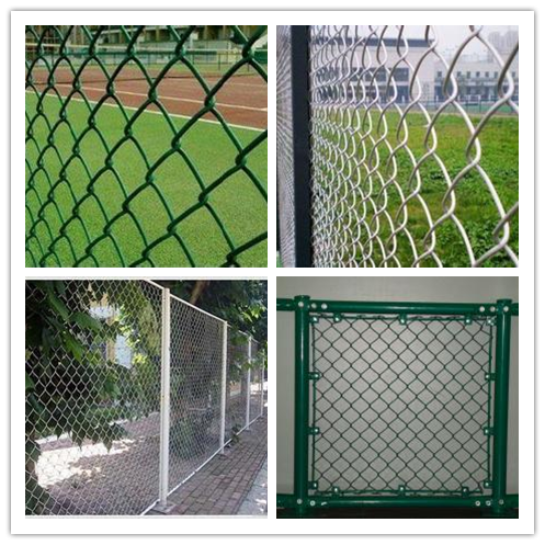 Outdoor basketball court fence/Sports Court Fence / Diamond Mesh Fence Price