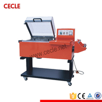 Factory packaging material 2 in 1 shrink equipment shrink wrapping machine