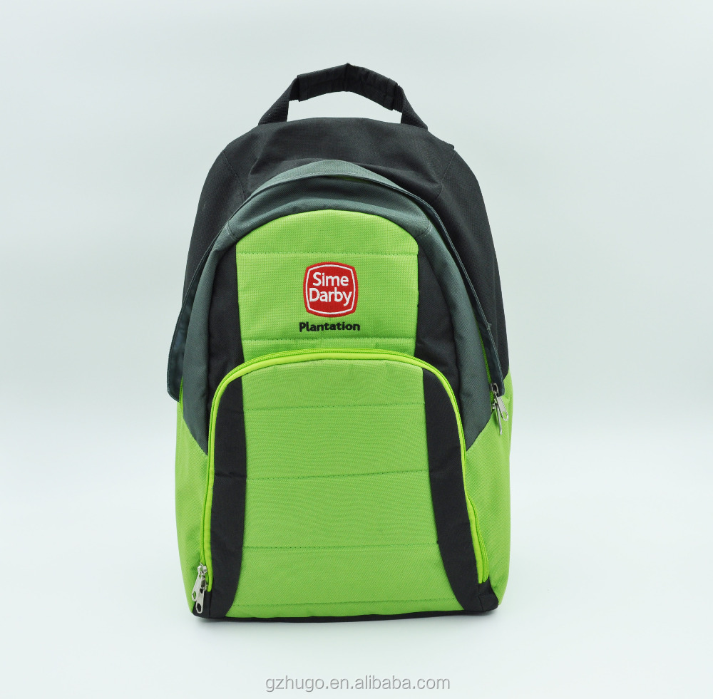 Hot!!! High Quality Custom Design Polyester Travel Zipper school backpack