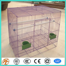 factory direct supply Small white square iron bird cage parrot cage starlin9 rabbit cage