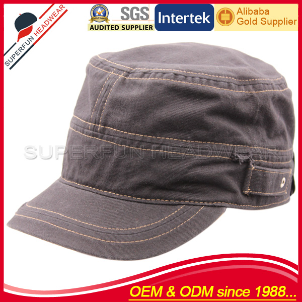 manufacturer supply felt military hat blank dad hat wholesale