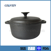 Cast Iron Biryani Cooking Pot Non Stick with lid and handles