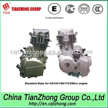 Chinese Motorcycle Parts 200cc Engine Electric & Kick Start Manual Clutch