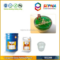 SE2208 High strength clear liquid epoxy resin used in intelligent water meter protection potting