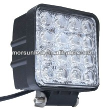 12V/24V 48W vehicle LED light, Hot sale Off road work lamp for Jeep, rav4, 4wd, forklift, snowmobile