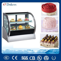 Countertop Display Cabinet Cooler, Tabletop Refrigerated Showcase TC-150