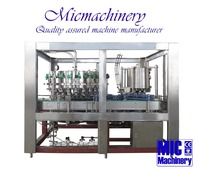 MIC-32-8 Germany standard top quality 2-in-1 PET Can soft drink filling machine carbonated drink can filling machine with CE