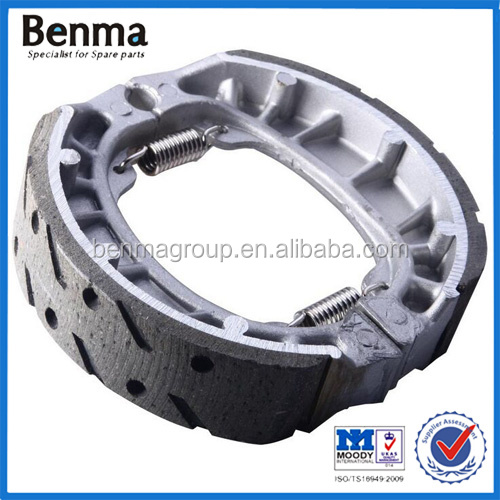 Manufacture direct sell motorcycle brake parts/brake shoe CG125