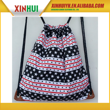 Newest design high quality low price draw string bag small