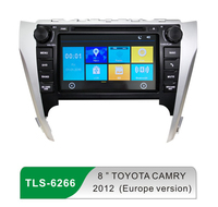 wifi android car stereo audio dvd entertainment system headunit for toyota camry 2012 Europe Version with 8inch touch screen