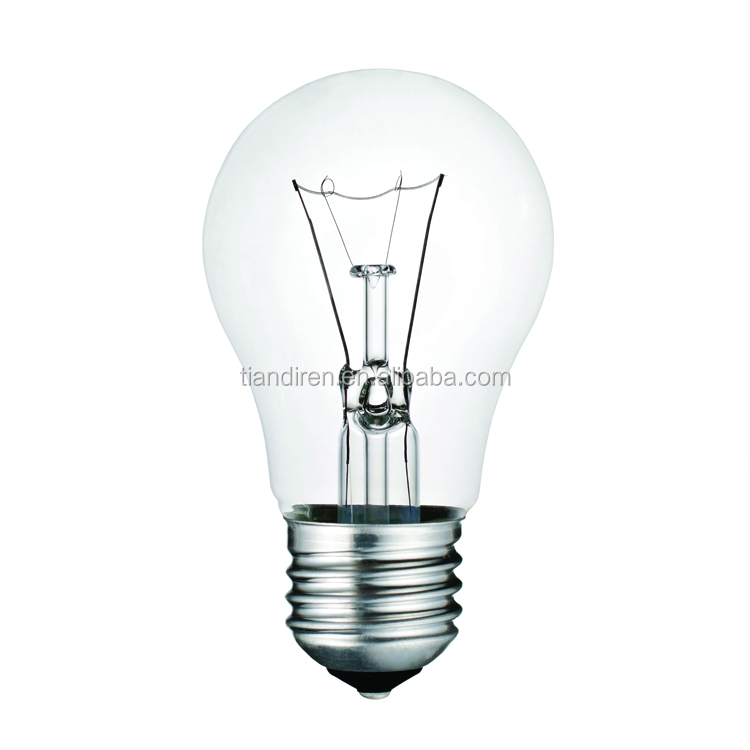 Buy Incandescent Bulb E27 40w Ac 110v T45 Tungsten: List Manufacturers Of Frosted Incandescent Bulb 100w, Buy
