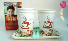 Coffee Logo Printed Disposable Paper Cup for Leisure Life