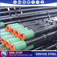 ASTM A106 Grade B seamless steel pipe used for drill pipe