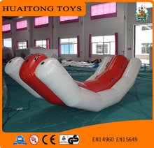 2016 outdoor giant inflatable water totter games crazy inflatable water toys for adults and kids