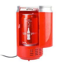 0.5L 5V USB Portable Cooler and Warmer Mini Can Shaped Fridge