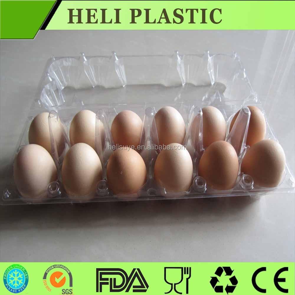 ... 12 agujeros bandeja de huevos de plástico cajas de huevos
