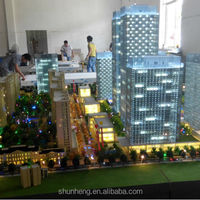 Greentown Lily Apartment Club Miniature Architectural