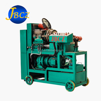 Construction material straight parallel thread rebar process threading rolling machine