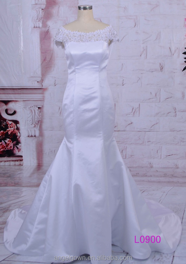2016 new style european fashionable off shoulder bridal gown lace wedding dress
