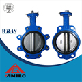API 609 ISO 5752 BS5155 Cast Iron Wafer Butterfly Valve