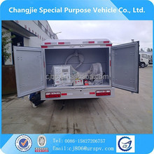 High efficiency small JAC gasoline fuel tanker 5000L
