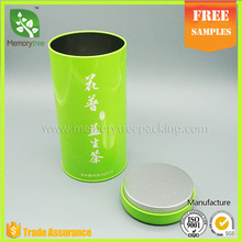 eco-friendly food grade packaging tea tin box size