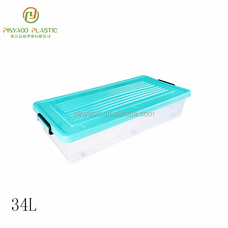 Multi-function promotional wholesale under bed plastic storage boxes