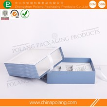 Luxury Drawer perfume box with ribbons and transparent window exquisite beautiful box