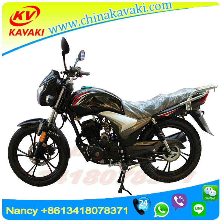 KAVAKI Front Disc Rear Drum Brake Cheap Motorbike Electric Start Motorcycle For Adults