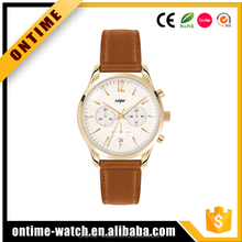 Top brand dome sapphire crystal glass vogue watch mens chronograph watches