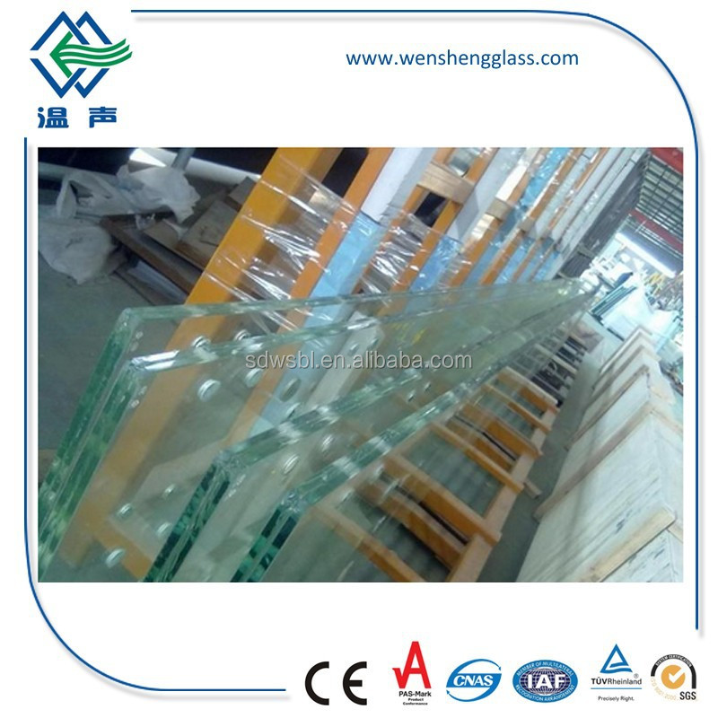6.38-42.3mm AS/NZS 2208:1996 Weight of Laminated Glass