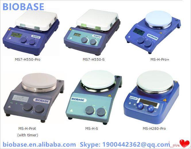 2016 New Cheap Hotplate Magnetic Stirrer/Mixerwith CE ISO Certificate